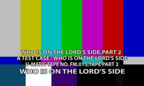 who is on the lord side 2 by Archbishop Benson Idahosa