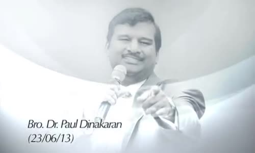 A Message by Bro. Dr. Paul Dinakaran