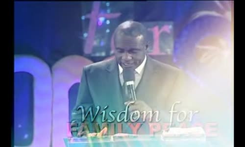 Wisdom for Family Peace Series by Dr David Ibiyeomie 2