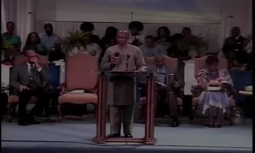 Bishop Tudor Bismark at Born Again Church in Nashville, TN