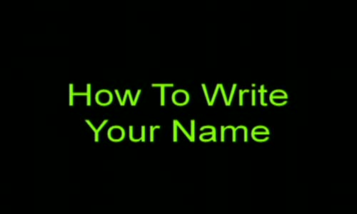 How to write your name - Pastor Mensa Otabil