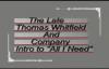 Thomas Whitfield & Company All I Need (Intro).flv
