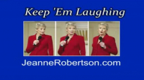 Jeanne Robertson Flight attendant deals with a bad potato
