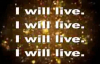I Will Live (Lyrics) By Charles Jenkins & New Fellowship Choir.flv