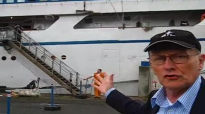 George Verwer visits MV Logos 2 - Kiel, Germany.mp4