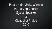 Bishop Marvin L. Winans at Citadel of Praise, Detroit, MI