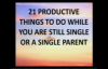 21 Productive Things To Do While You Are Still Single - Bishop Michael Hutton-Wood.flv