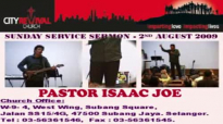 Excerpts of CRC's Sunday service sermon by guest speaker Pastor Isaac Joe on 2 Aug 09.flv