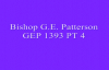 Bishop G  E Patterson GEP 1393 PT 4