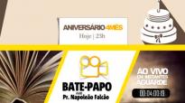 Batepapo com Pr. Napoleo Falco em sua estreia na Academia de Pregadores
