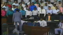 He's In The Blessing Business - Rev. Clay Evans & the AARC Mass Choir.flv