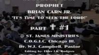 BRIAN CARN (PROPHET) @ ST. JAMES- ELDER JK RODGERS