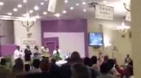 Bishop Lambert Gates Sr preaching at Beulah Heights 1st Pentecostal Church.flv