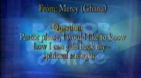 Pastor Chris Oyakhilome -Questions and answers  Spiritual Series (37)