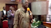 Bishop Francis Sarpong of CCBC ministering powerfully during anointing service.mp4