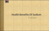 Health Benefits Of Sodium Healthy condition of the Heart 1  HEALTH TIPS