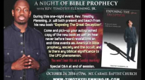 Special Q&A from Night of Prophecy
