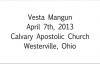 Vesta Mangun A House Of Prayer Apr. 7th, 2013  FULL LENGTH MESSAGE