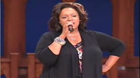 Kierra Sheard gives encouragement to the Youth, sings Praise Him Now and There Is None Like You.flv