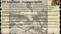 RW Schambach - David and Goliath