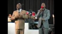 Apostle V Mahlaba flowing in the Spirit