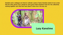 Kansiime the sharp digger. Kansiime Anne. African Comedy.mp4