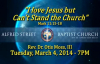 March 4, 2014 7PM March Gladness I Love Jesus but Cant Stand the Church Rev Dr Otis Moss, II