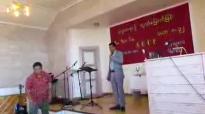 Rev.San Toe in Norway(20.July.2014)- 1.flv