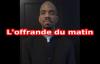Offrande du matin, enseignement sur 2 Rois 3v20, prière matinale _ Pasteur Givel.mp4