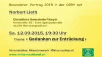 Norbert Lieth - Gedanken zur Entrückung.flv