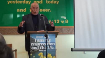Pastor Robert Karthak preaching at Hounslow uk nepali fellowshippart 4