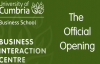 University of Cumbria - Carlisle Business Interaction Centre (Official launch).mp4