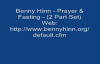 Benny Hinn  Prayer  Fasting 2 Part Set Audio