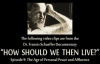 Dr. Francis Schaeffer How Should We Then Live Episode 9 Promo Clip