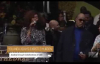 Yolanda Adams, Stevie Wonder, and Kristle Murden at Pastor Andrae Crouch Homegoing Celebration