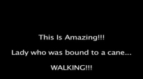 David E. Taylor - This Is Amazing! Lady who was bound to a cane.WALKING.mp4
