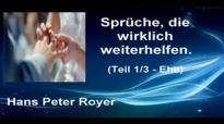 Sprüche - Teil 1_3 - EHE (Hans Peter Royer).flv