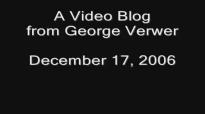 George Verwer video blog - December 17 2006.mp4