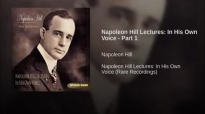 Napoleon Hill Definitiveness of Purpose - Rare Recording in Hill's Own Voice - N.1.mp4
