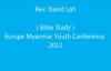 EUMYC - Rev David Lah ( Bible Study ) 02. August 2013.flv