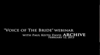 Webinar 1 with Paul Keith Davis The Great Cloud of Witnesses Pt. 1