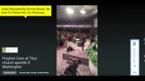 Prophet Brian Carn U MADE ME CRY U CAN'T MAKE ME QUIT 9-11-15 Shekinah Conference 2015 Titus Church