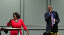 Pastor Kim Burrell and Donnie McClurkin At the Love and Liberty Fellowship Church 5th Anniversary.flv