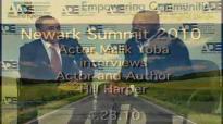 Malik Yoba interviews Hill Harper at ADE Summit.flv