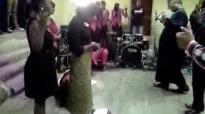 Bishop Elise Mulumba releasing Holy Spirit fire.flv