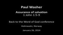 Paul Washer Assurance of salvation