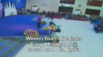 Day3WinnersCanaan LandYouthAlive Easter Camp 2015
