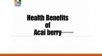 Health benefits of acai berry 2  HEALTH BENEFITS  HEALTH TIPS