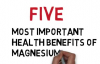 Magnesium Five Most Important Health Benefits