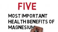 Magnesium Five Most Important Health Benefits